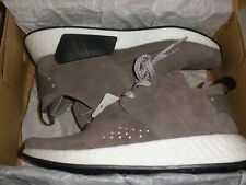 mens size 9 Adidas NMD C2 Brown suede shoe by9913