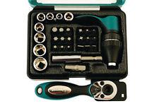 KAMASA TOOLS 1/4 Drive Ratchet Drive SOCKET SCREWDRIVER Bit Set Tool Kit