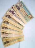 Lotto Banca Popolare di Bergamo di mini-assegni anni '70