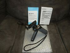 Sony GP-AVT1 Support System - Shooting Grip / Mini Tripod with instructions