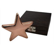 Star Lingotti di Rame Stelle 500 Grammi 999 con scatola Etui Regalo Nuovo