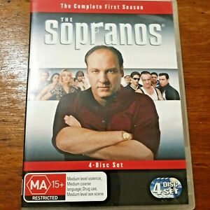 The Sopranos The Complete First Season DVD R4 Like New! – FREE POST
