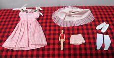 "Vtg.Japan 1965 Skipper~""Me`N My Doll""~1913~Mint+Comp lete 8 Pc Set w/ Dolly+Skirt"