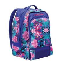 Zaino xrolley  backpack girl by giochi preziosi blu con fiori  cod xr901000