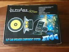"""In phase XT6C ~ 6.5"""" car speaker component system. 240 watts. (unwanted gift)"""