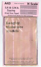 LANGLEY MODELS SR / gwr ESCRIME échelle N Non Peint Laiton Métal Kit A43