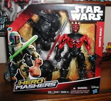 star wars HERO MASHERS DARTH MAUL  6 inch  ACTION FIGURE new  in hand