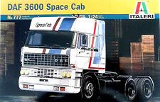ITALERI 1:24 KIT TRUCK CAMION DAF 3600 SPACE CAB LUNGHEZZA 27,5 CM       ART 777