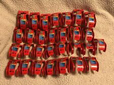 Lot of 29 Scotch EMPTY Tape Dispenser Holders 1.88 Size Small Mini Red