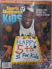 January 1994 Shaquille O'Neal Orlando Magic Sports Illustrated For Kids NO LABEL