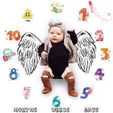 Infant Baby Meilenstein Decke Foto Fotografie Requisiten Decke Hintergrund