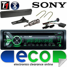 Ford Mondeo MK2 Sony Bluetooth DAB Radio CD MP3 Car Stereo & Steering Wheel Kit