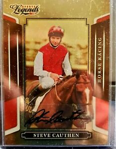 2008 Donruss Americana STEVE CAUTHEN Autograph HALL OF FAME Horse Racing
