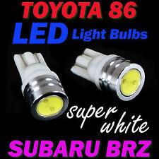 4x LED Bulbs for Toyota 86 GT GTS (ZN6) Subaru BRZ (ZC6) PARK & PLATE Light