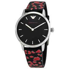 Emporio Armani Quartz Black Dial Ladies Watch AR11262