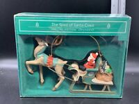 Hallmark Keepsake Ornament The Spirit of Santa Claus 1985 QX4985 Mint In Box