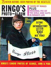 Ringo's Photo Album Magazine 1964 The Beatles, Photos Taken By Ringo Starr