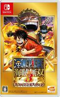 NEW Nintendo Switch One Piece Pirate Warriors 3 Deluxe Edition Japan JP Game A30