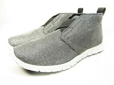 Henry Ferrera Women's  Chukka Fashion Sneakers Pewtel Size 8.5