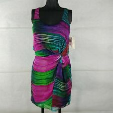 Shoshanna Colorful Silk Dress Womens Size 0