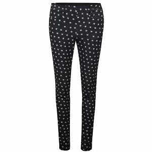 $188 Ralph Lauren RLX Golf Pants Printed Eagle Black / White Diamond US 6 NEW