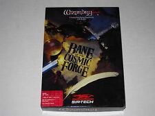 Wizardry 6 VI: Bane of the Cosmic Forge  (Amiga, 1990) Rare Vintage Big Box