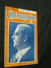 SEPT 16, 1921 FRENCH CINEMAGAZINE Uncut Complete 29 pgs