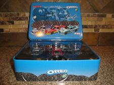 NASCAR Dale Earnhardt Jr 1:64 Scale Three Car Set OREO/RITZ in Tin Box NEW