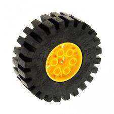 1x Lego Technic Rad schwarz gelb 20x30 Felge 4267 Set 8862 8853 8854 4266c02