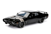 Jada Toys Fast & Furious 8 Diecast Dom's Plymouth GTX Vehicle 1:24 Scale