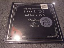 """War """"Deliver the Word"""" SEALED NM UNITED ARTISTS JAZZ-FUNK LP W/HYPE STICKERS"""