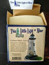 """Harbour Lights """"This Little Light of Mine"""" Cockspur Island Ga New In Box 2001"""