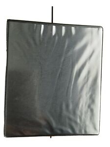BRAND NEW Beautone A5 2 Ring 25mm Binder Folder Black