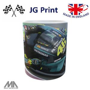 Valentino Rossi inspired motorbike Moto GP mug design 2021