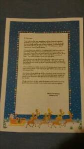 Truly Personalised Letter From Santa And North Pole Stamped Envelope Reindeer