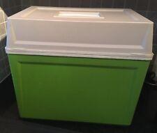 Vintage Lime Green Cool Box