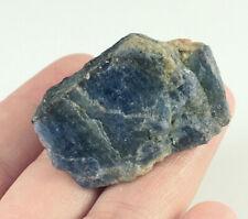 148.9Ct Natural Unheated Blue Sapphire Corundum Facet Rough Specimen YBG3547