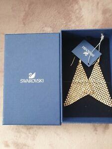 Swarovski Fit Gold Golden  Ohrringe Original  earrings Neu