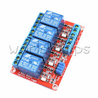 24V 4-Channel Relay Module with Optocoupler H/L Level Triger for Arduino