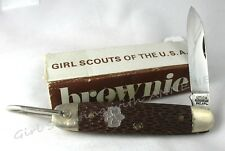 1973 1-Blade Brownie Girl Scout Folding JACK-KNIFE, NEW in BOX Collectors RARE