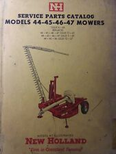New Holland Nh Tractor Implement model 44, 45, 46, 47 Sickle Mower Parts Manual