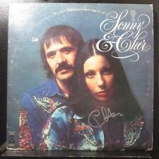 Sonny & Cher - The Two Of Us 2 LP VG+ SD 2-804 Vinyl Cher Signed / Autographed