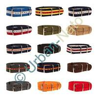 NATO Watch Strap G10 Military Army Nylon Canvas Divers Band by URBAN-NATO