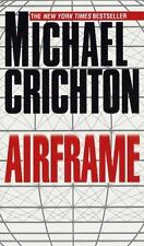Airframe by Michael Crichton (1997, Paperback) free shipping!!!!!!!!!!! look!!!!