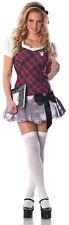 Playboy Sexy College Collegiate Schoolgirl Cutie Costume L/XL 10-14 lingerie NEW