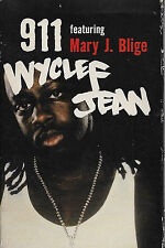 Wyclef Jean Feat Mary J. Blige 911 CASSETTE SINGLE Hip Hop RnB/Swing