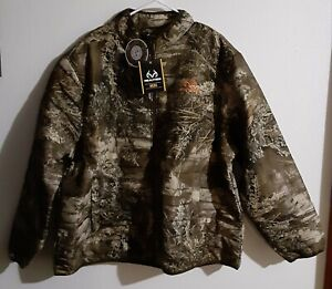 Men's Realtree Max-1-XT 2XL (50-52)Insulated Camo Water Repellent Puffer Jacket