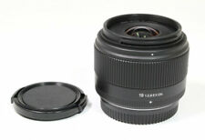 Sigma A Art 19 mm f/2.8 EX DN Lens For Micro Four-Thirds - Black **EXCELLENT**