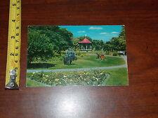 Postcard Old Vintage Public Gardens Halifax Nova Scotia Canada