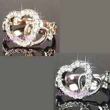 Unbranded Round White Gold Filled Costume Rings